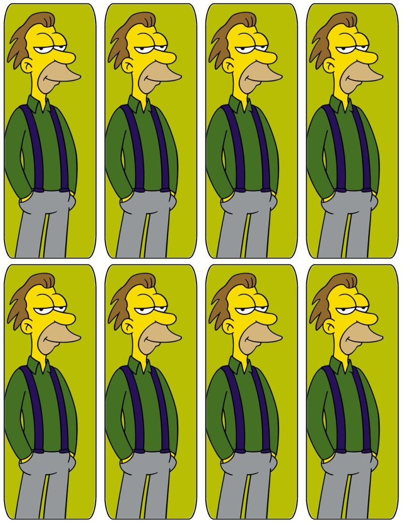 The Simpsons Ny Bookmarks Free To Use And Free To Share For Personal Use