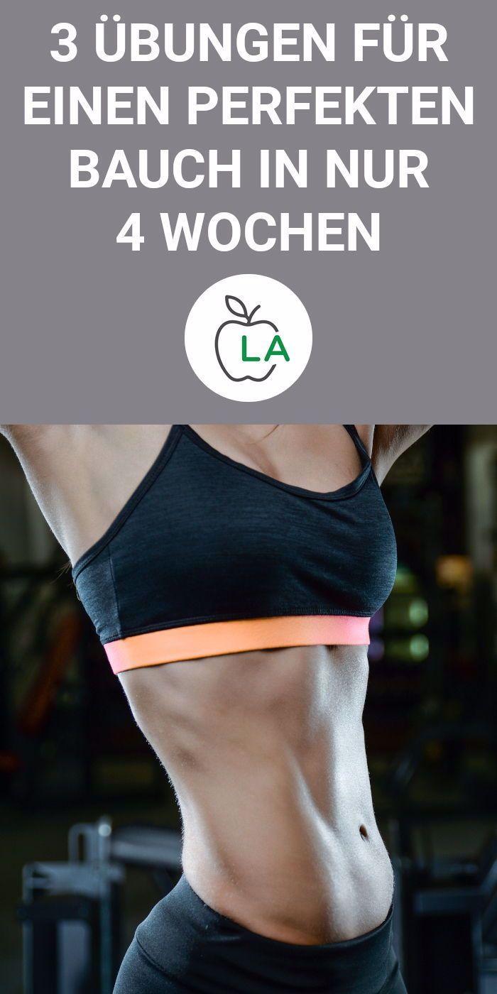 Wer sein Bauchfett loswerden will, muss effektives Bauchmuskeltraining und eine optimale Diät machen...