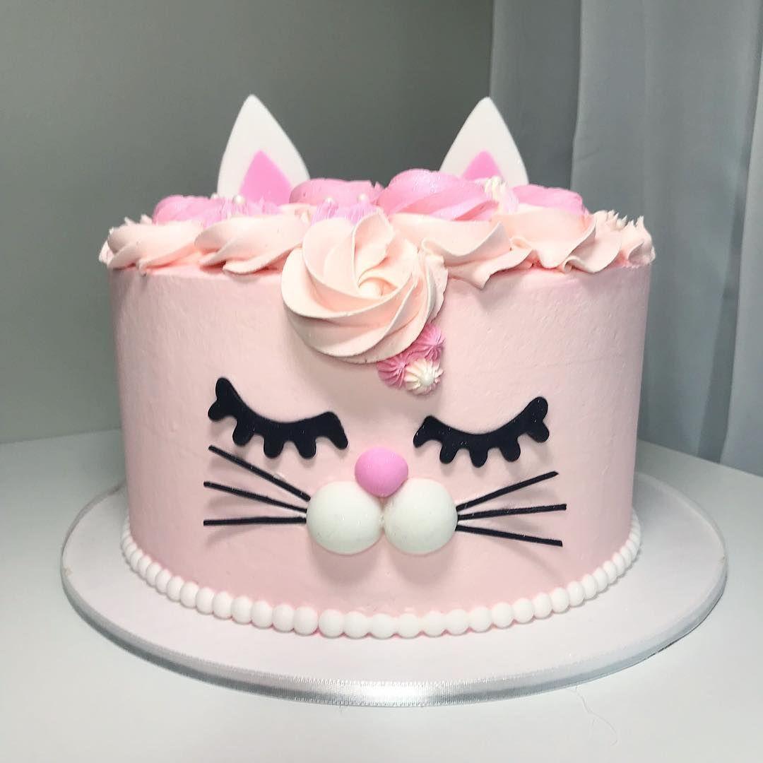 Amazing Birna Dis On Instagram Cake Birthdaycake Catcake Personalised Birthday Cards Veneteletsinfo