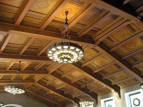 Union Station Los Angeles Union Station Los Angeles Architecture Railroad Station