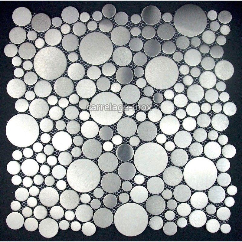 Mosaique inox carrelage inox les plaques de mosaique et carrelage inox sont de veritables for Plaque de carrelage