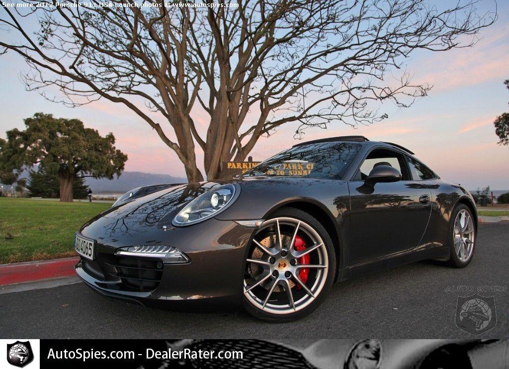 2012 Porsche 911 (991) Launch Santa Barbara