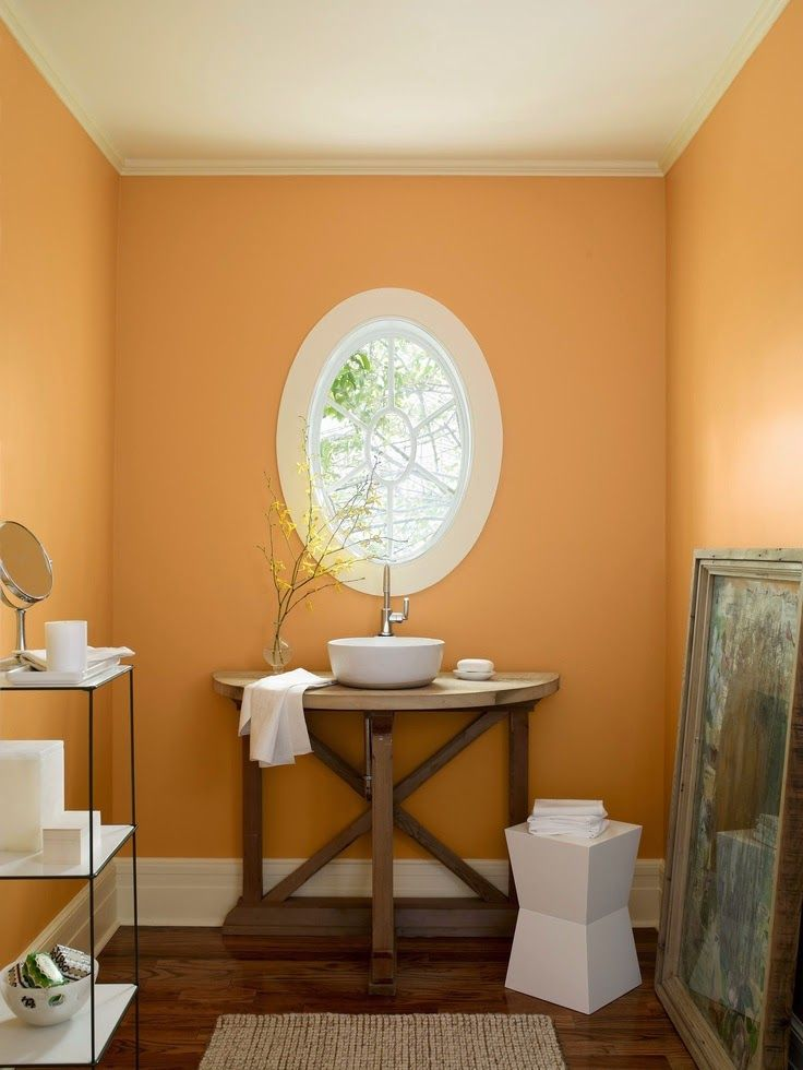 Wall Color Looking For An Elegant Bathroom Scheme Try Benjamin Moore S Sepia Tan On The Walls Richmond Gold Ceiling And Albescent Your