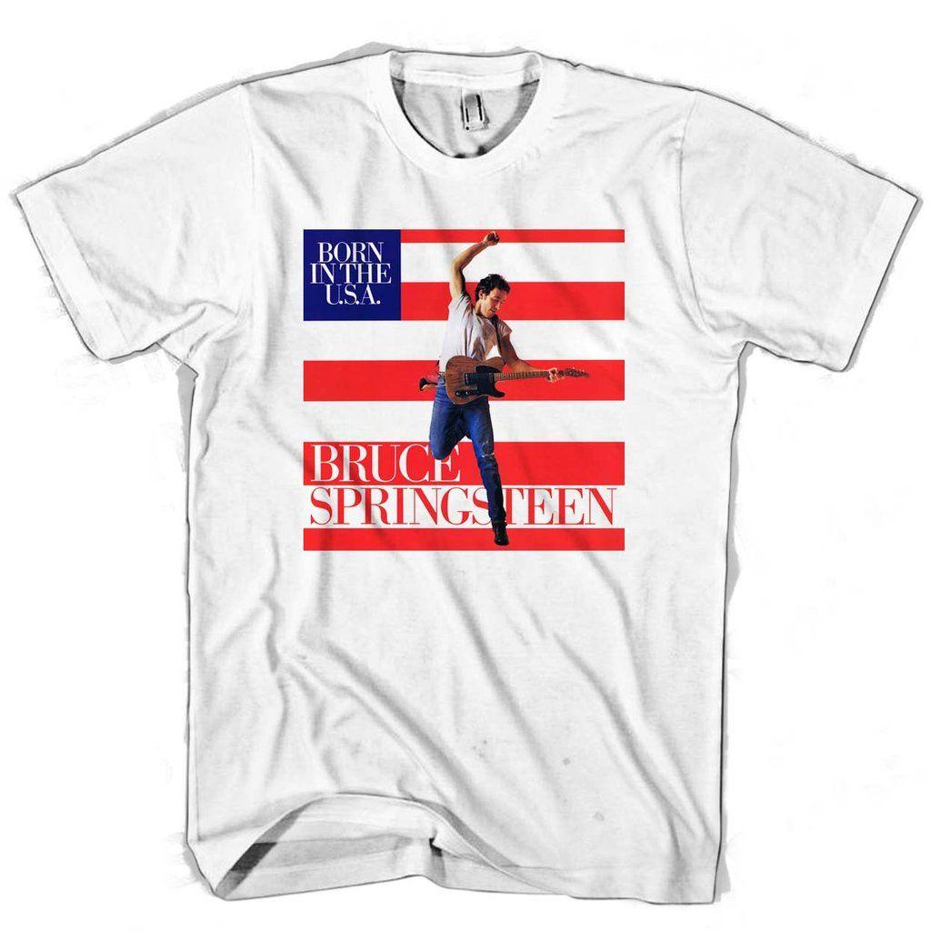 Bruce Springsteen Man's Tee T-Shirt
