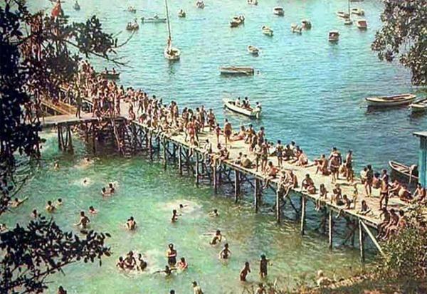 Moda Plajı, 1960lar #birzamanlar #istanlook