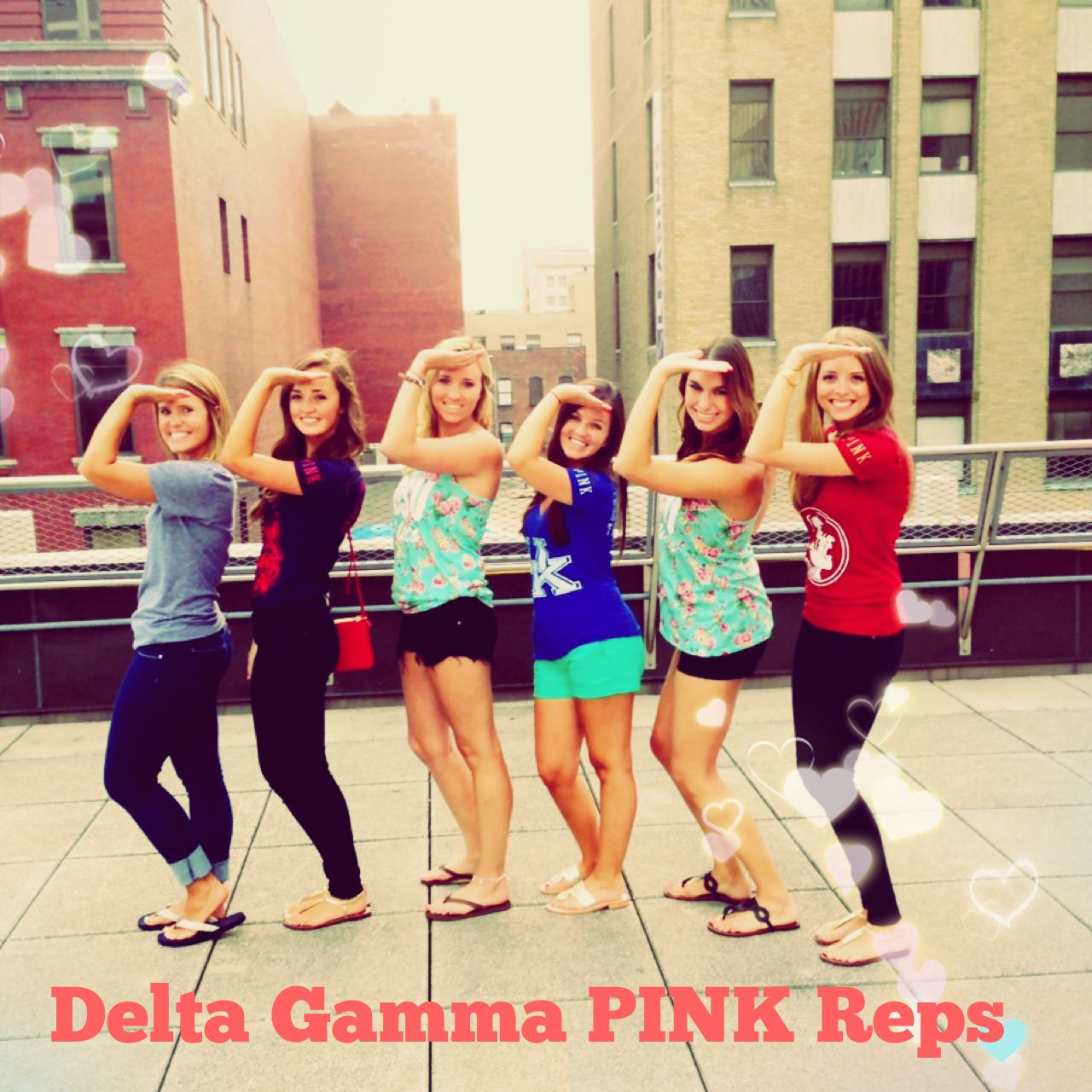 So Cool Meeting Dgs From Other Schools All Over The Us Victoriassecret Pink Pinkrep Campusrep Deltagamma Dg Anchored Delta Gamma Pink Pink Brand