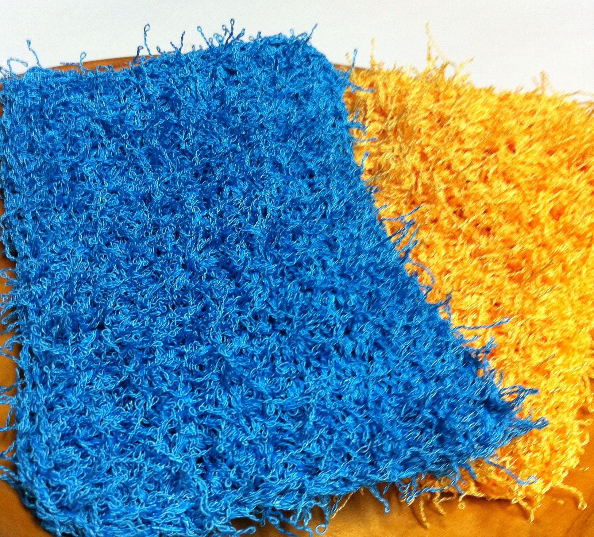 Easy Crochet Dish Scrubbies | Crochet projects | Pinterest | Costura