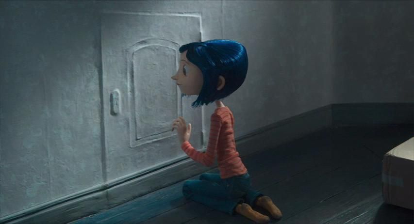 coraline finds the door Google Search Tips/Black&White