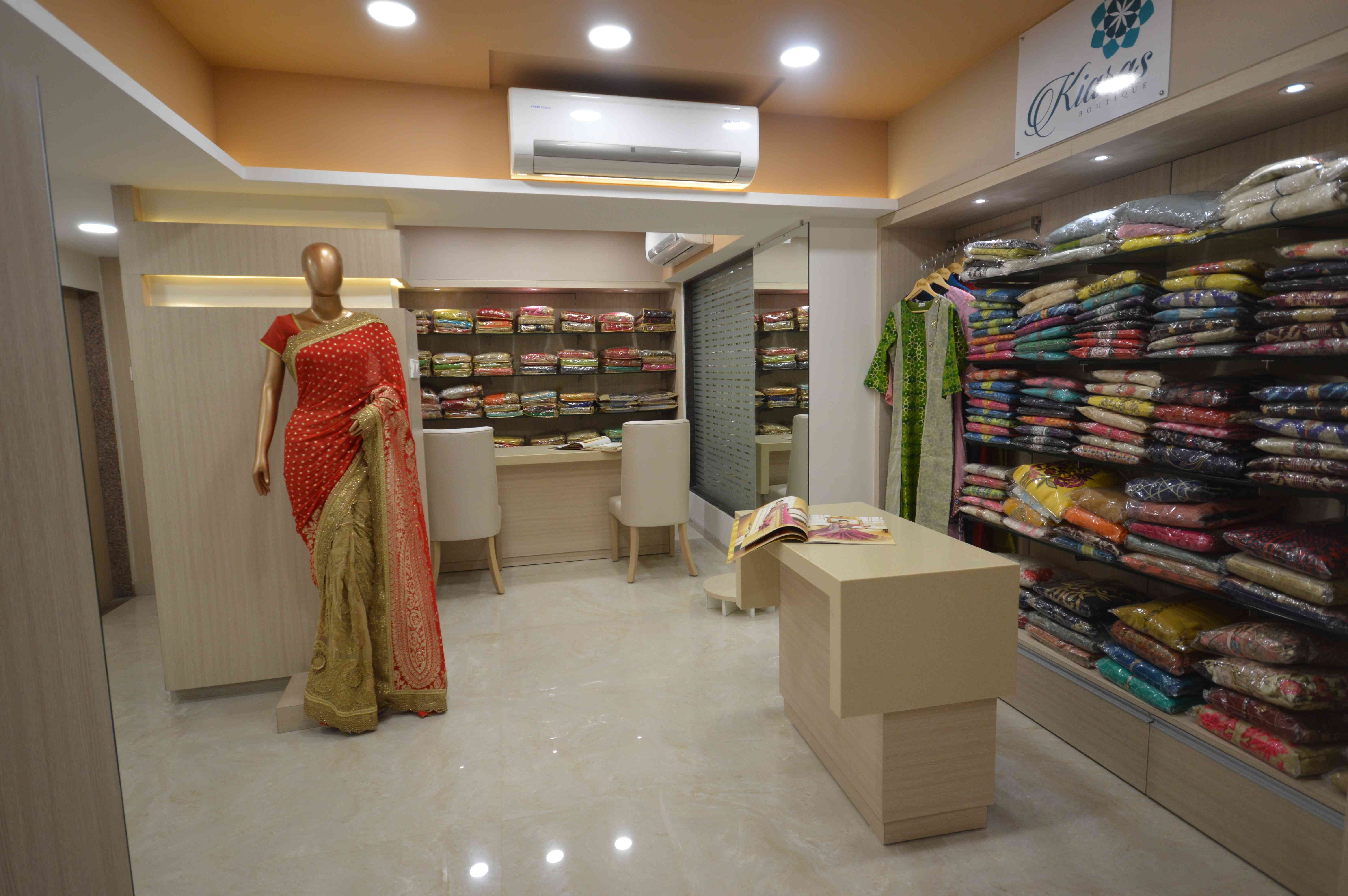 Saree Showroom Design By Sameer Sherawale Retail Store Design