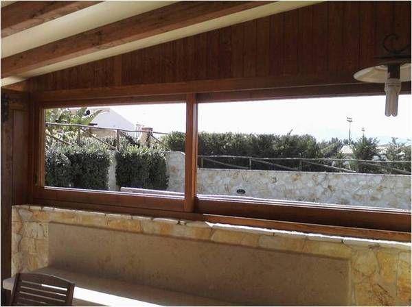 Vetri scorrevoli per esterni verande chiuse con vetrate scorrevoli with vetri scorrevoli per - Verande da giardino in legno ...