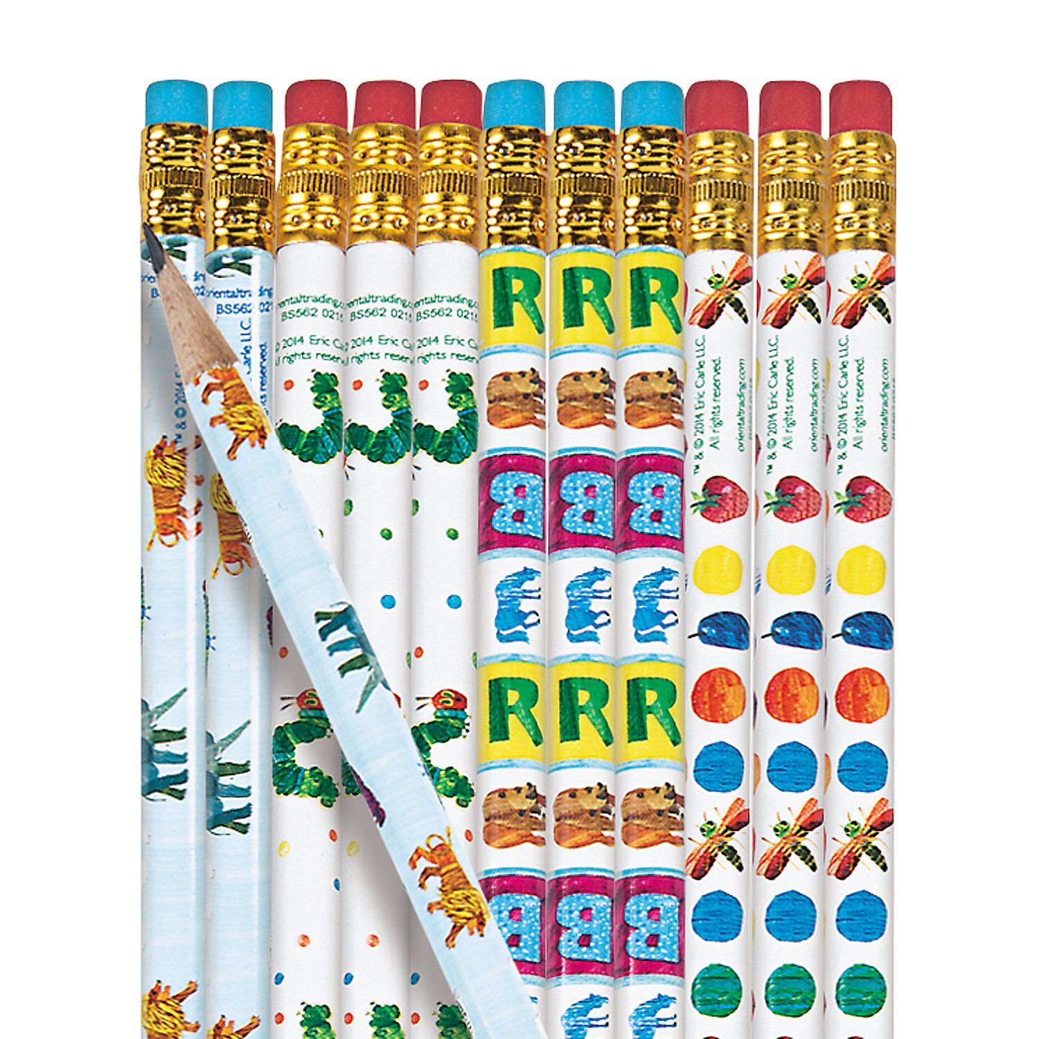 The World Of Eric Carle Pencil Assortment