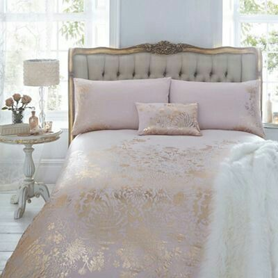 Pink And Gold Bedding From Marks And Spencer Gold Bedroom Bed