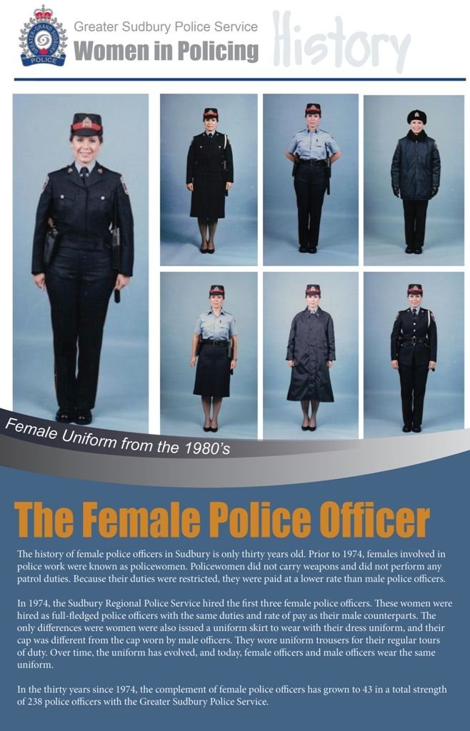 Over time, the uniform for the female police officer has evolved - community police officer sample resume