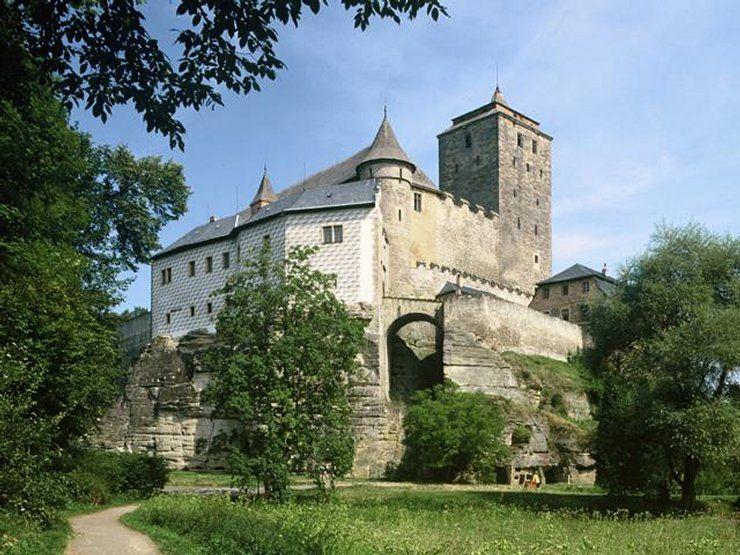 Kost - perła czeskiego gotyku obronnego