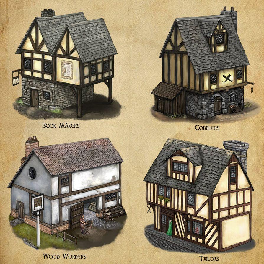 Algadon Buildings (3) by Seraph777.deviantart.com on @DeviantArt