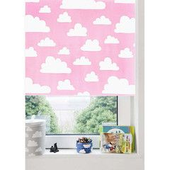 Roller Blind . Blackout - Clouds Pink (need 2 in 100 cm?)