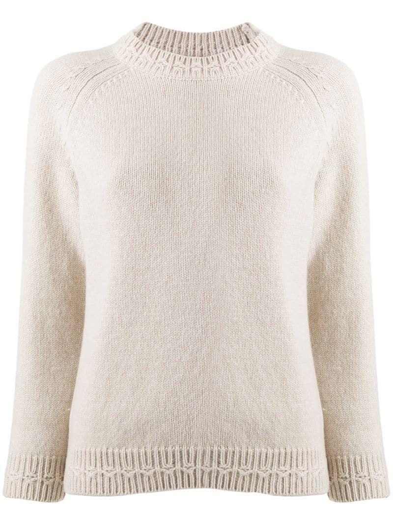 A.P.C. chunky knit jumper - NEUTRALS #chunkyknitjumper