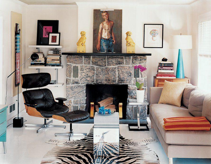 Fire Place / Un Salon Avec Cheminée : Nos Idées Déco   Marie Claire Maison