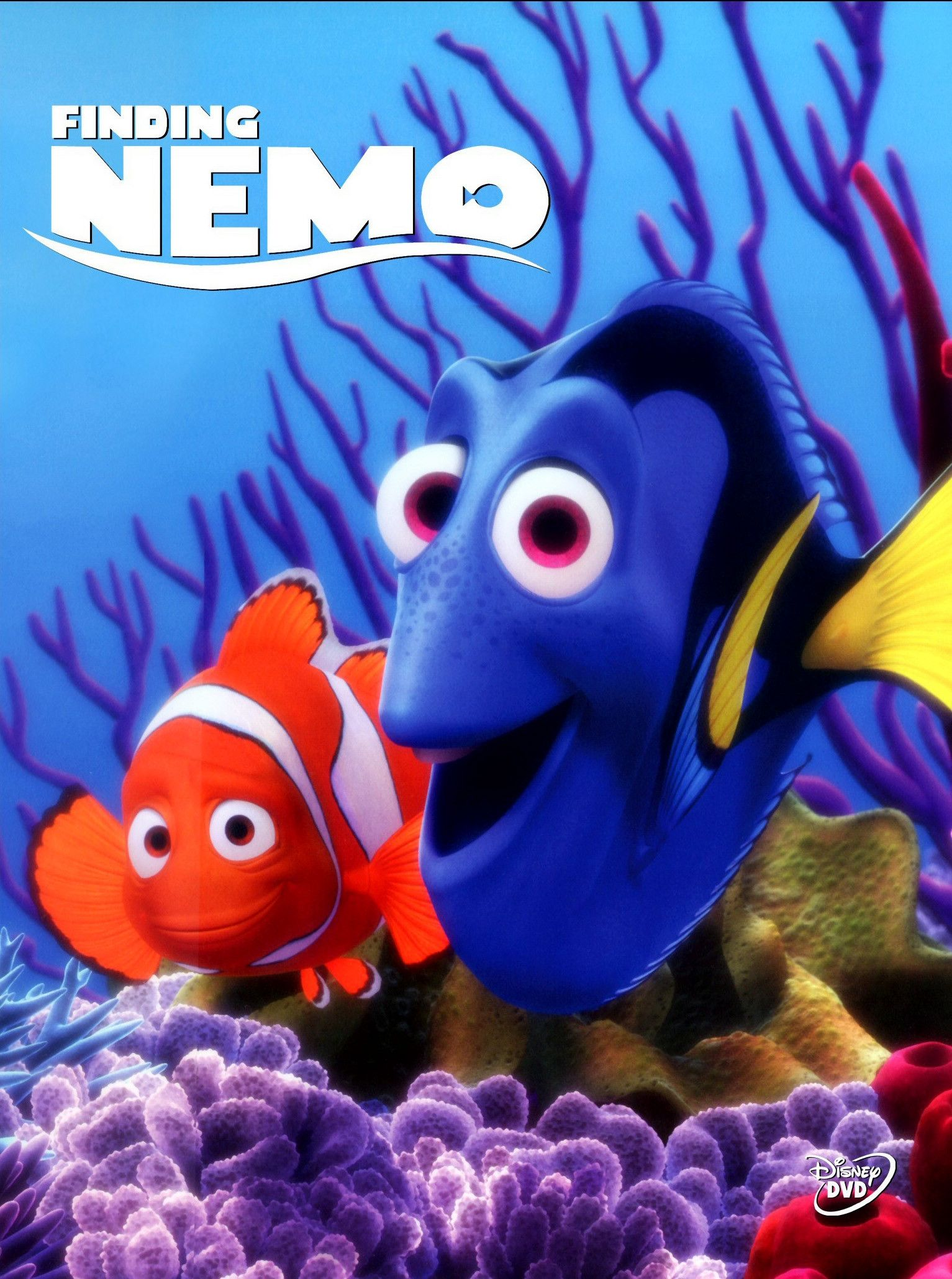 DVR'd this for my daughter...decided to watch one day...I ...  Walt Disney Pictures Presents A Pixar Animation Studios Film Finding Nemo