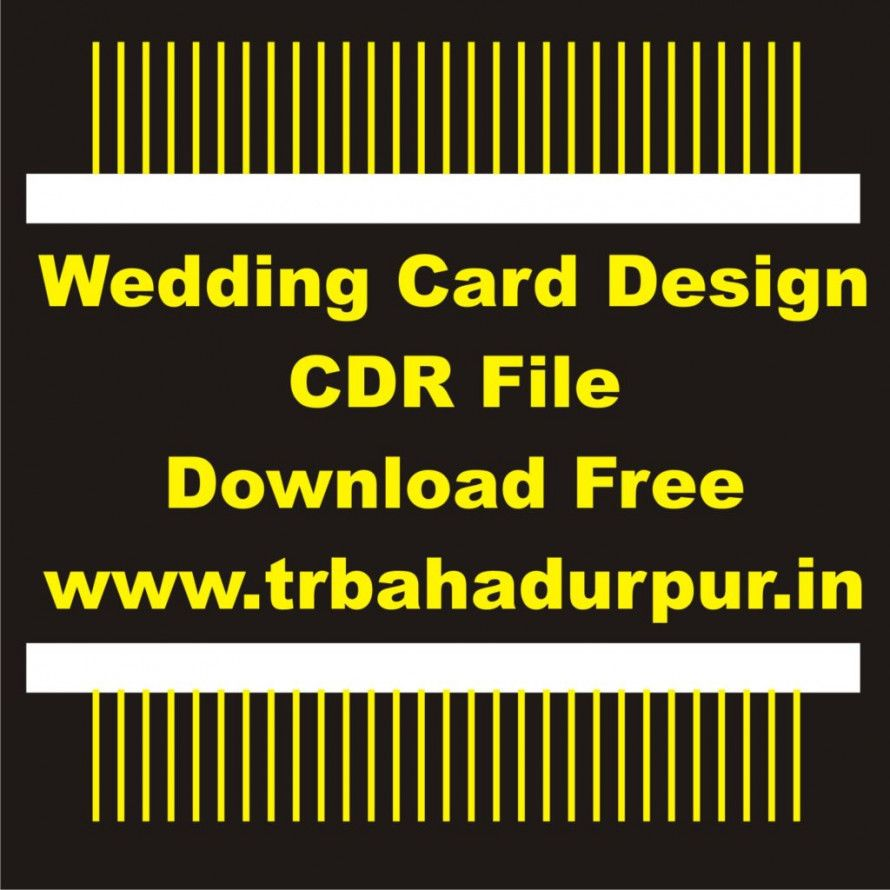 Invitation Card Design Cdr Invitation Card Design Cdr