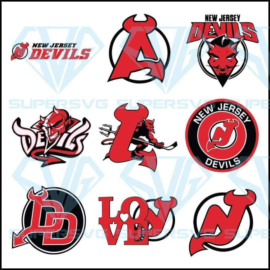 New Jersey Devils Svg, Cricut File, Bundle, Sport Svg, NHL