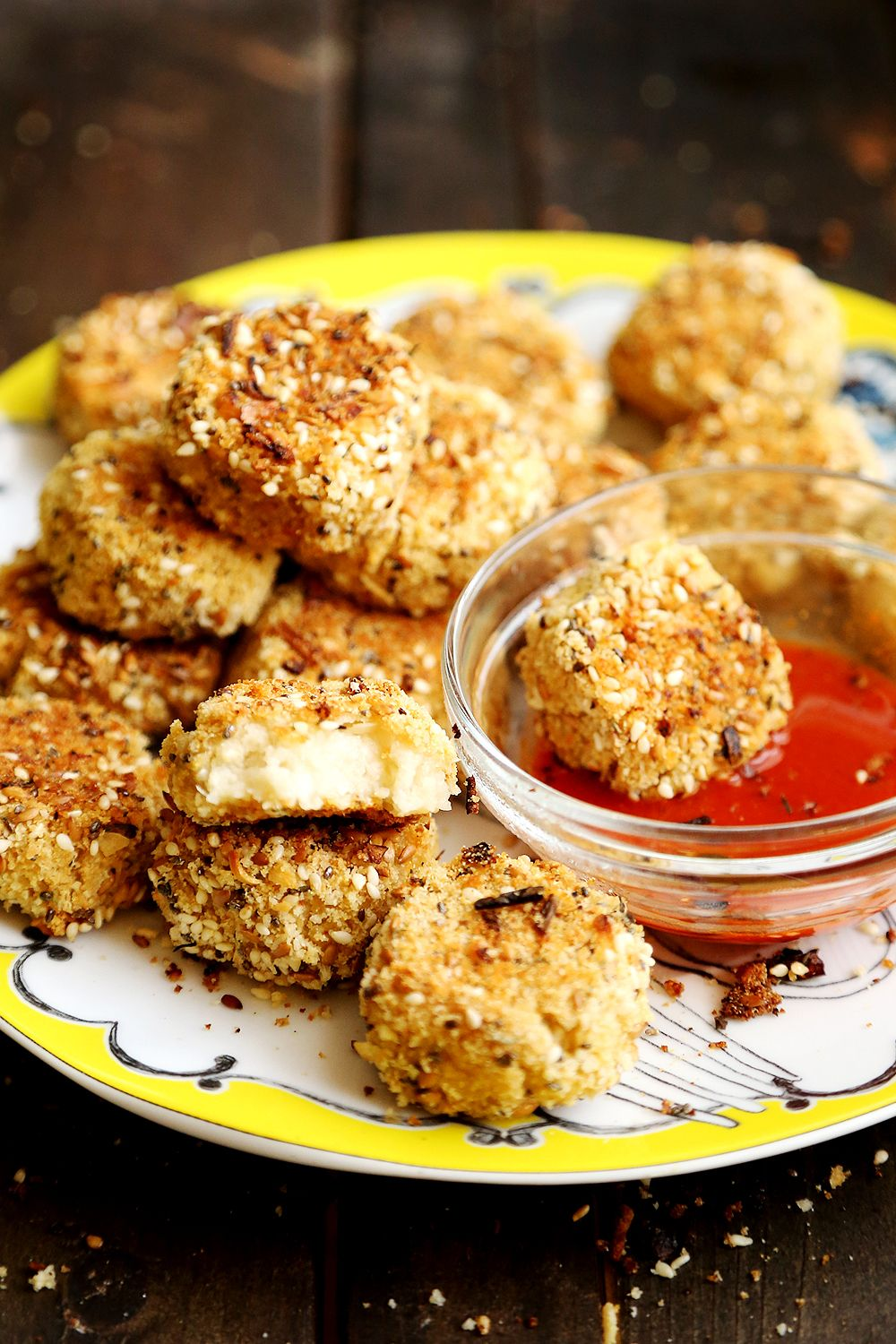 I Have Made Cauliflower Nuggets In The Past But I Wanted To Bread