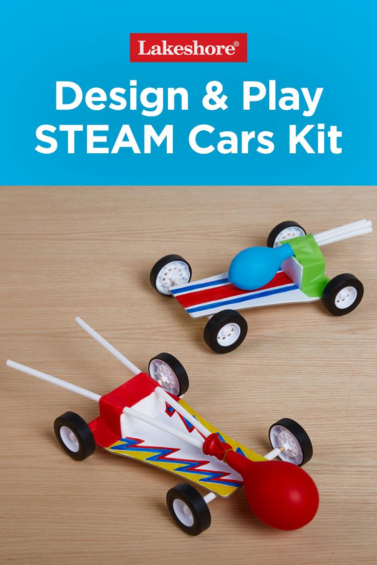 Design& Play STEAM Cars Kit