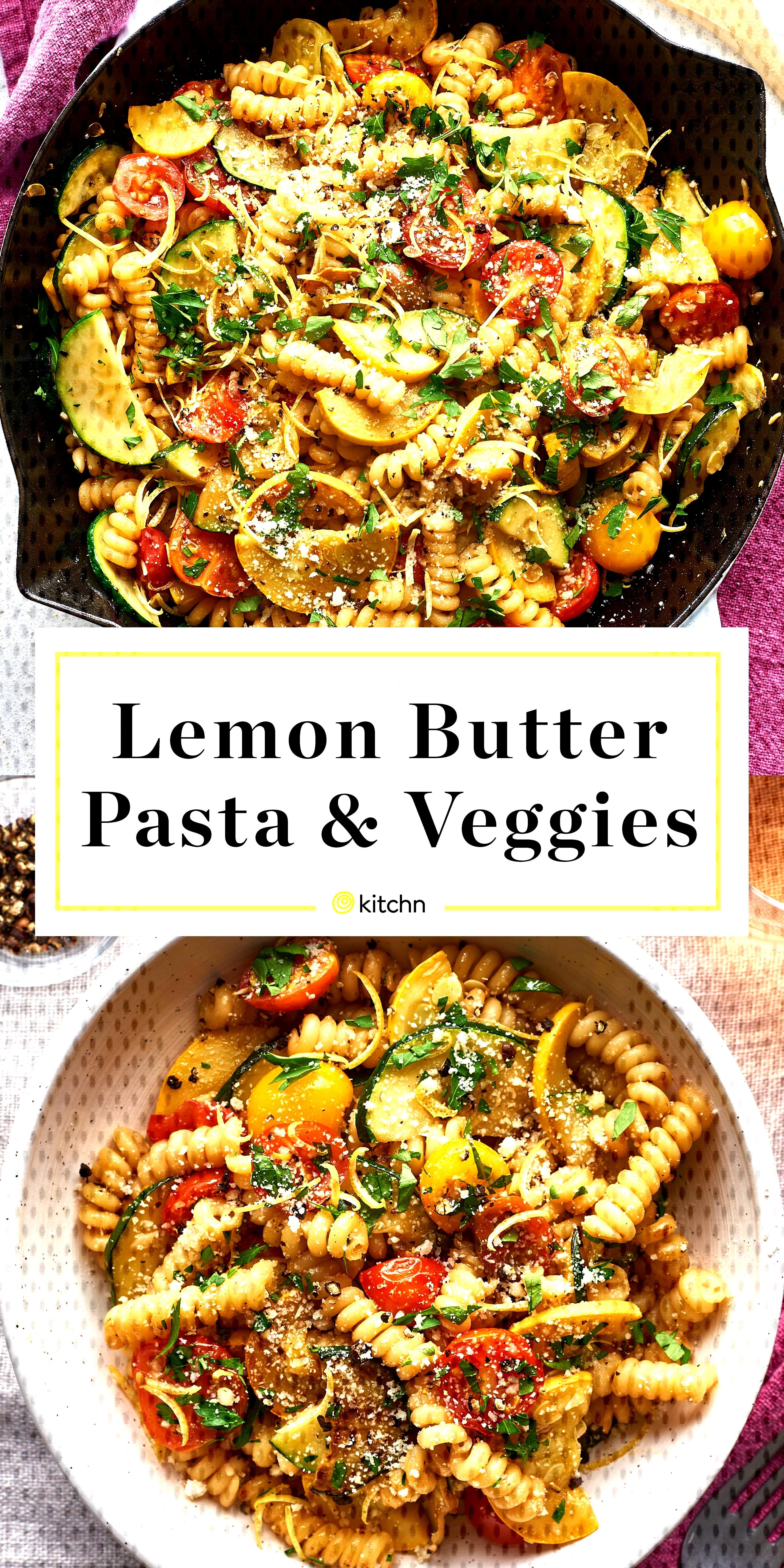 Recipe Lemon Butter Pasta amp Veggies#butter