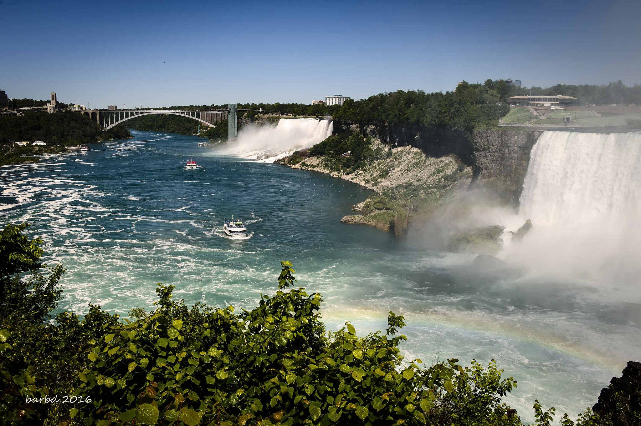 https://flic.kr/p/JqCYVJ | Niagara Falls | Our yearly trek to NF is always exciting.  Don't use this image on websites, blogs or other media without explicit permission. © Barbara Dickie. All rights reserved.