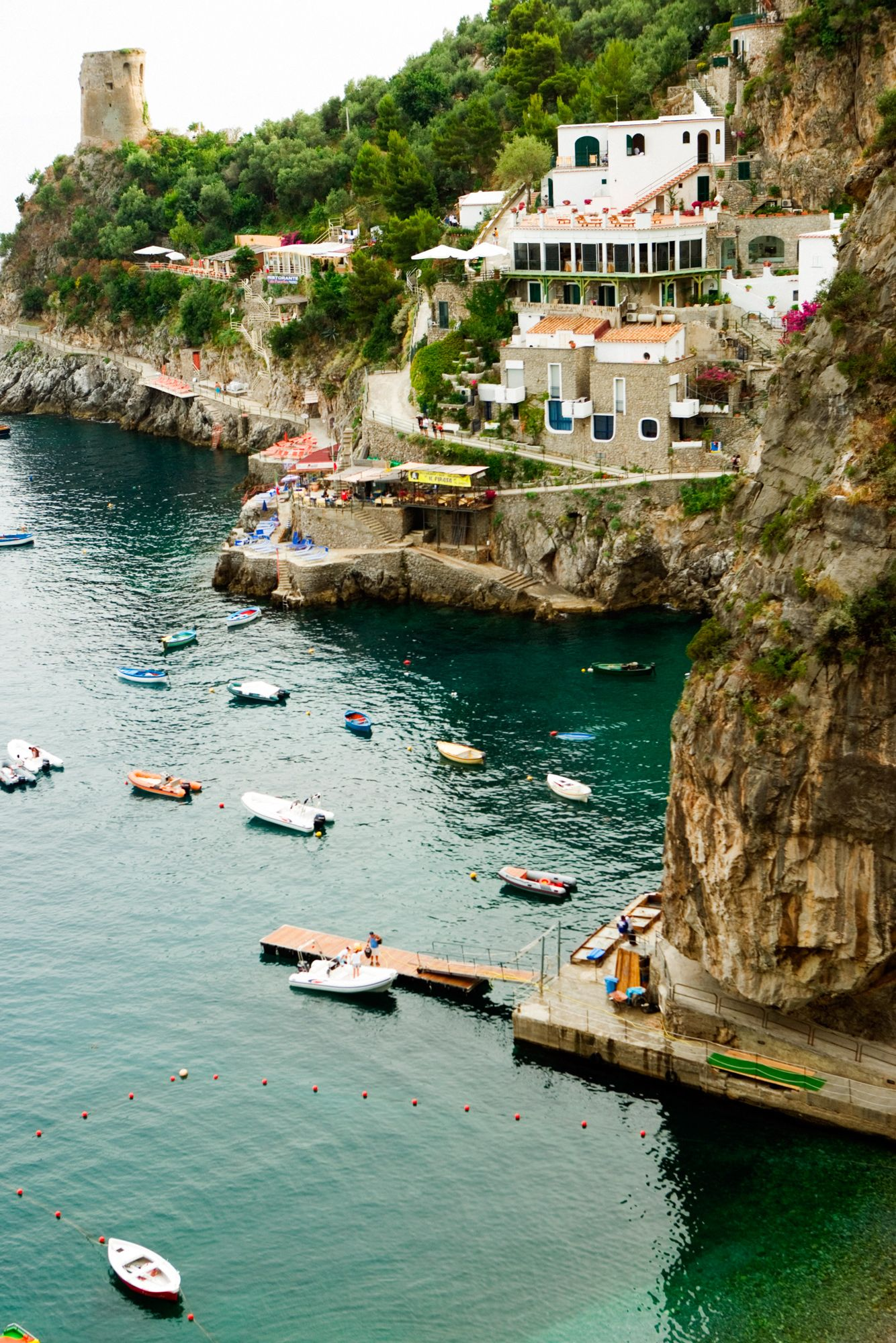 6 Celebrity-Approved Honeymoon Destinations - Amalfi Coast, Italy from InStyle.com