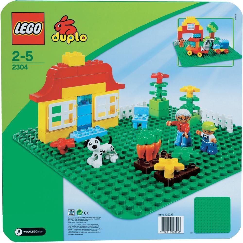 2304 Green LEGO® Duplo® Baseplate