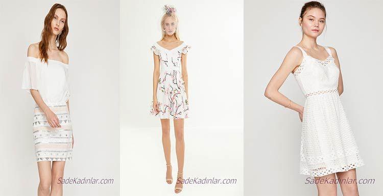 Koton Beyaz Elbise Modelleri Ile Bas Dondurucu Bir Sikliga Sahip Olun Elbise Modelleri Elbise Moda Stilleri