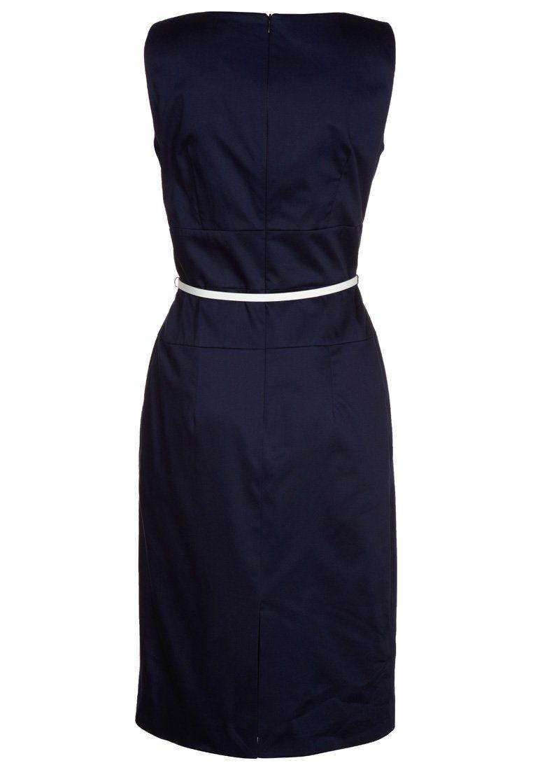 zakelijke jurk blauw