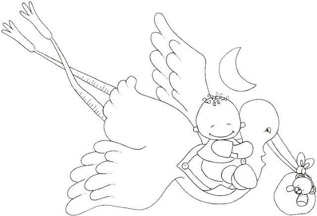 Dibujos y Plantillas para imprimir: Babyshower | HILDA | Pinterest