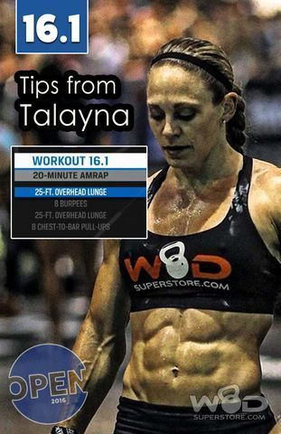2016 Crossfit Open Strategy And Tips For 16 1 Crossfit Open Crossfit Crossfit Workouts