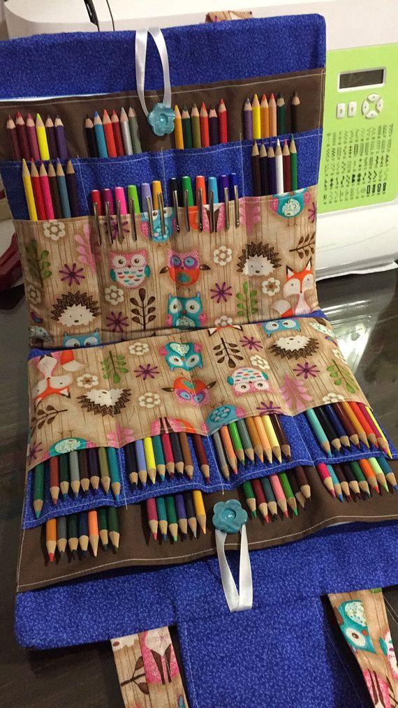 Ultimate Coloring Bag, coloring book, travel bag, knitting bag ...
