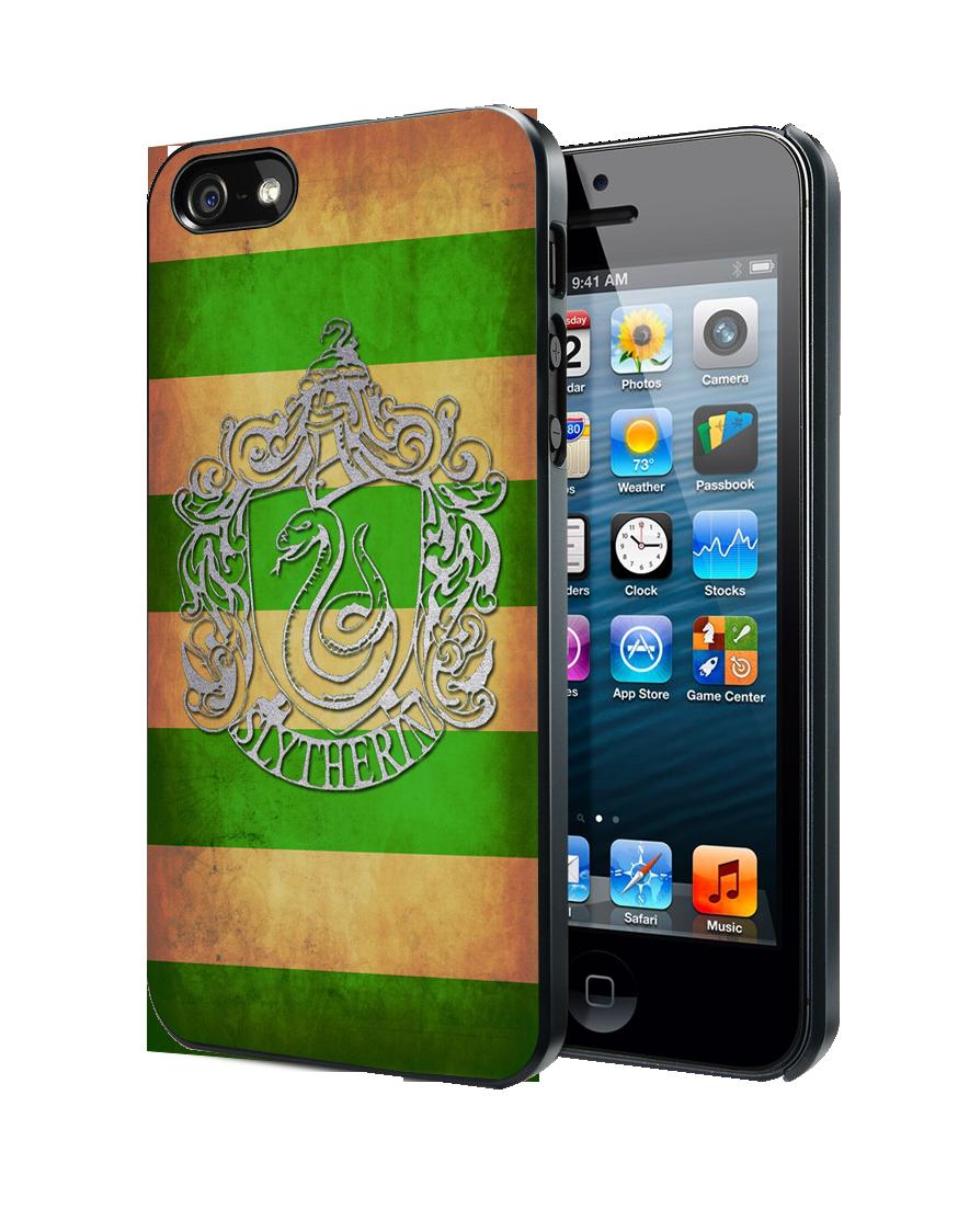 Harry Potter Slytherin Crest iPhone 4 4S 5 5S 5C Case