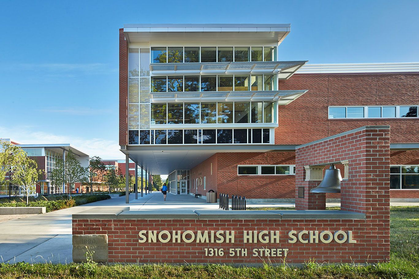 Snohomish High School, Snohomish School District   Snohomish, Washington    NAC|Architecture: