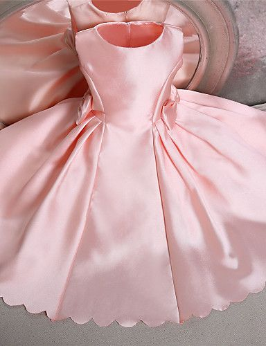 Knee Length Flower Girl Dress Pattern