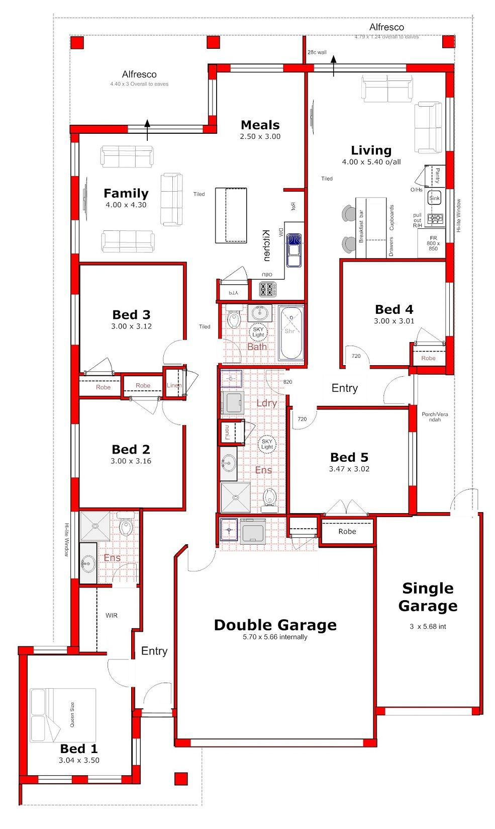 Discover Our Entire Range Of Dual Occupancy House Plans Designed For The Perth Metro Are Single Storey House Plans Building Plans House House Construction Plan