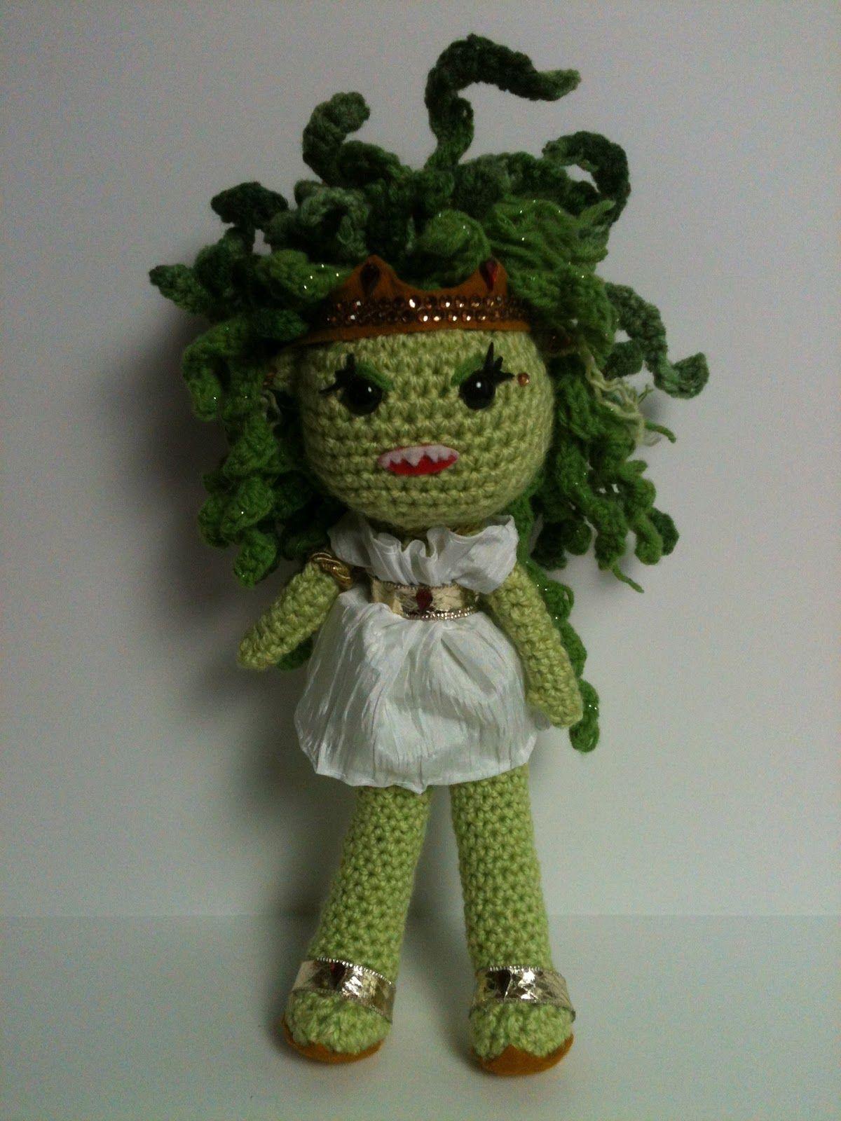Dolls Like Us Medusa Crochet Pinterest Medusa