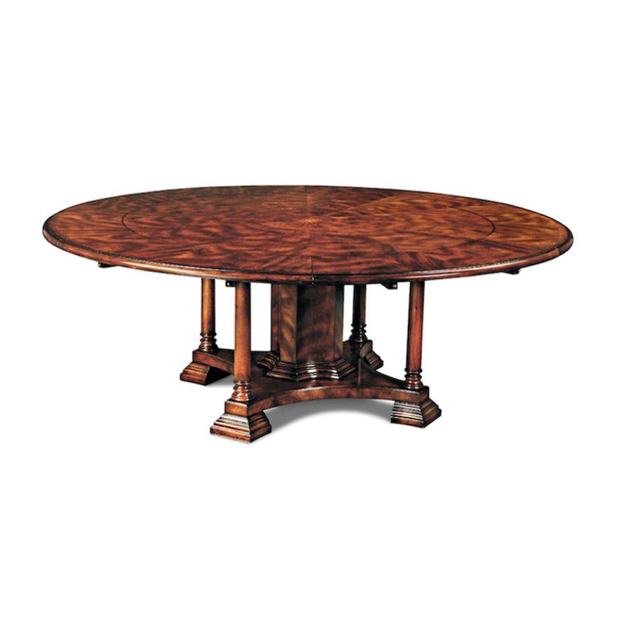 Extra Large Round To Round Perimeter Table Crotch Mahogany Idei