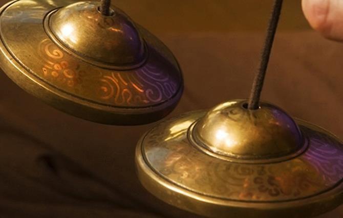 taças tibetanas... som dos deuses