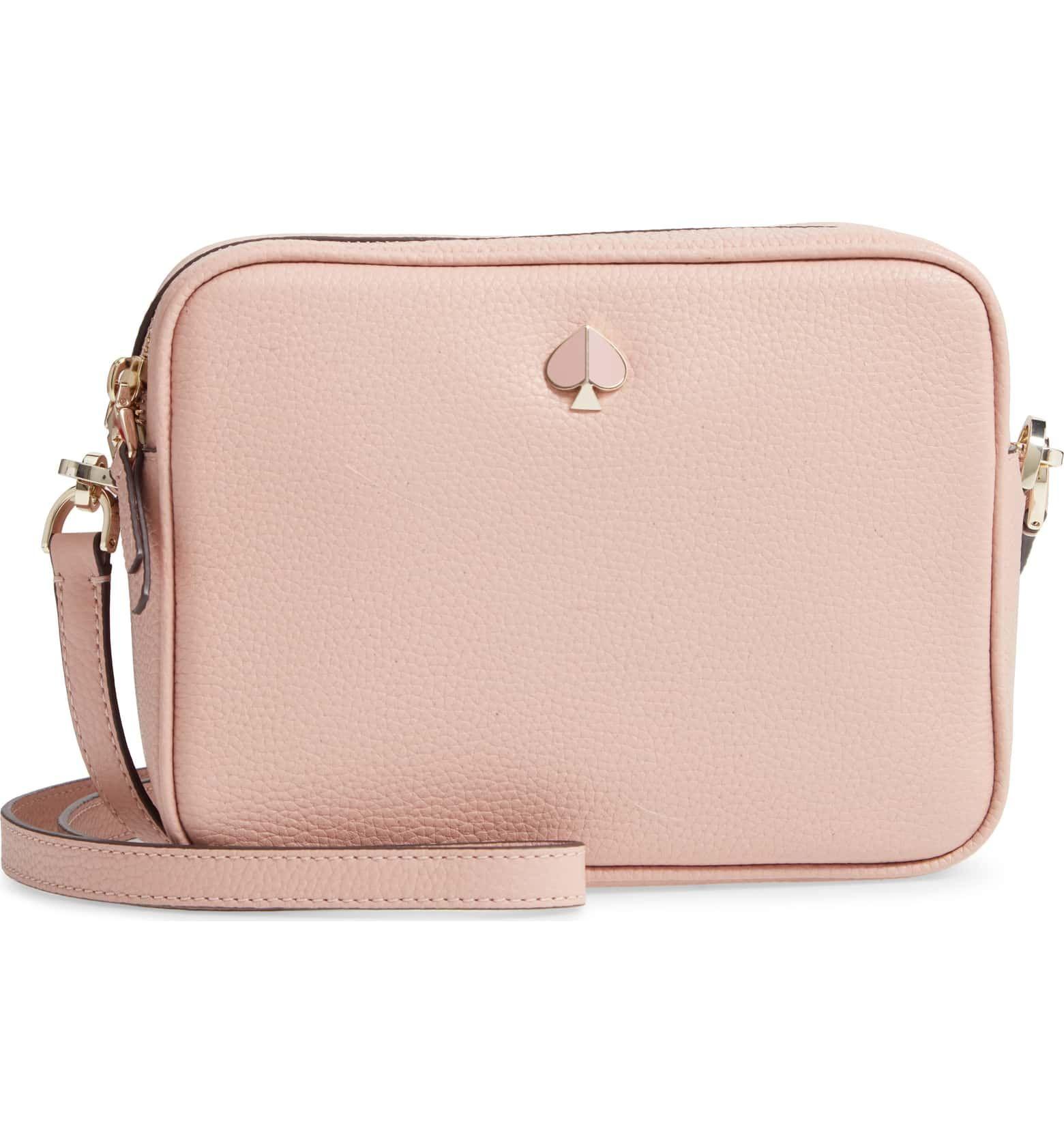Kate Spade New York Medium Polly Leather Camera Bag Nordstrom Leather Camera Bag Leather Bags