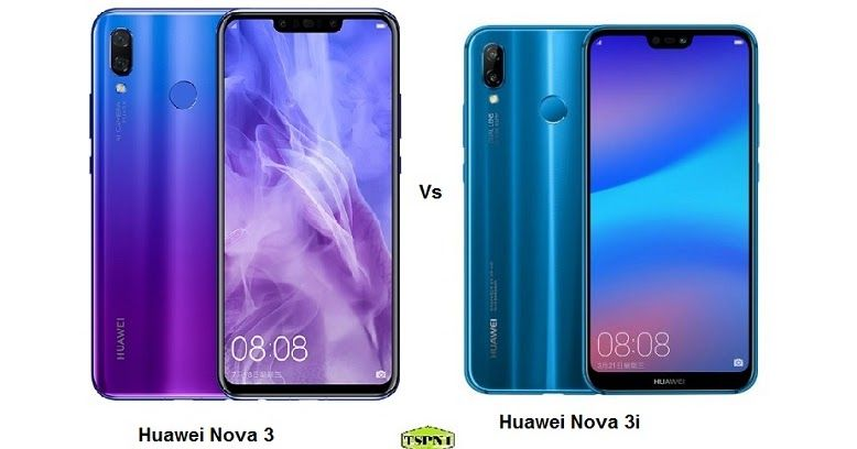 Comparison of Huawei Nova 3 Vs Huawei nova 3i | Mobile