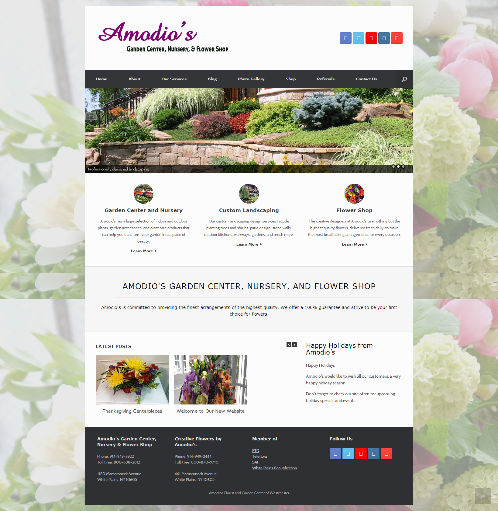 Amodios garden center and flower shop is a full service garden amodios garden center and flower shop is a full service garden center in white plains ny offering fresh flowers gardening supplies mightylinksfo