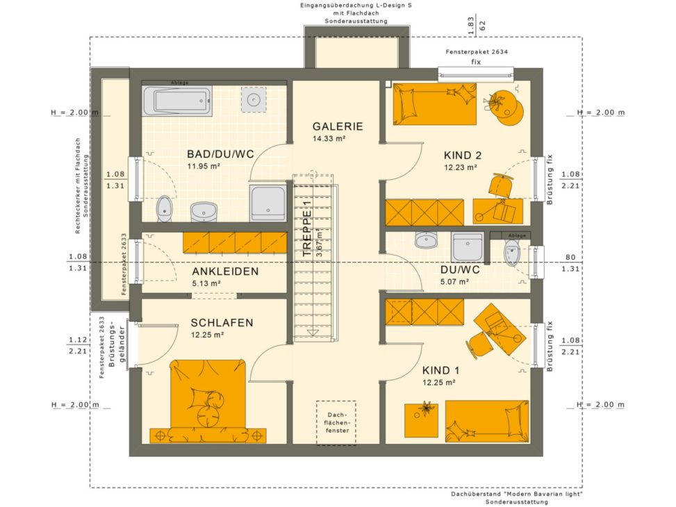 SUNSHINE 154 V5 Living Haus HausbauDirekt