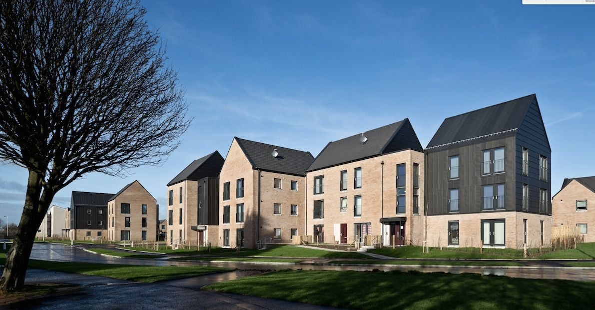 Sightill Housing Regeneration Collective Architecture Archinect Architecture Scottish Homes Building A House
