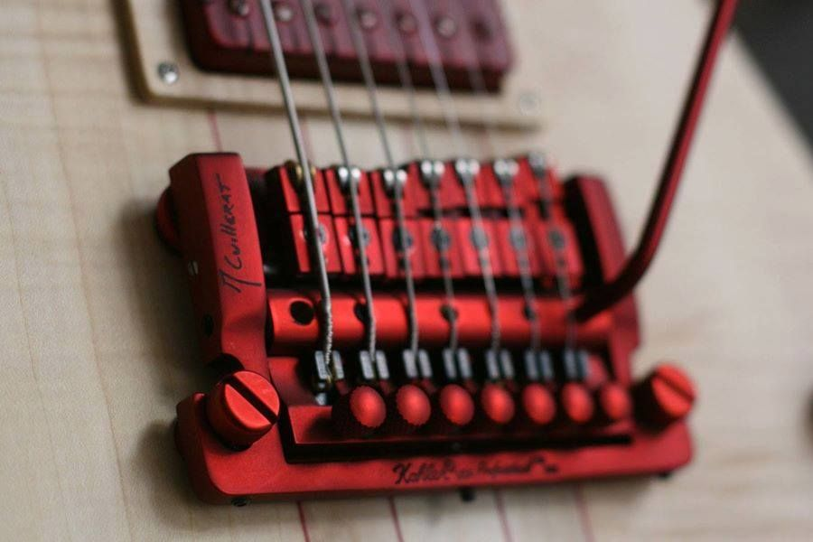 [XOTG_4463]  Special order in red to match red Sperzel Tuners by Wild Custom in France |  Music instruments guitar, Guitar design, Guitar building | Kerry King V Wiring Schematic |  | Pinterest