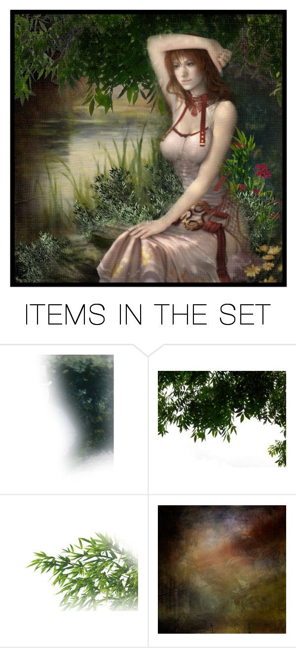 """""""In The Shade"""" by ritadolce ❤ liked on Polyvore featuring art"""
